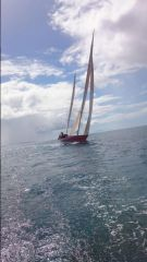 Steinlarger passing to leeward