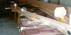 Out beams being built