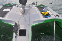 Out forestay back Mid