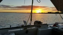 Sunset at Houhora